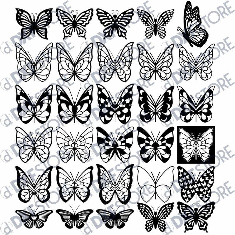 Butterfly Decorative Bundle
