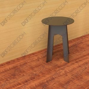 Collapsible Camping Stool - Heavy duty - No Welding Needed