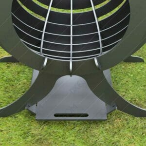 Fire Flame Fire Pit With Ash Tray Collapsible Portable Fire Pit No Welding Needed 20.5X18.5X36 For Laser Cutter