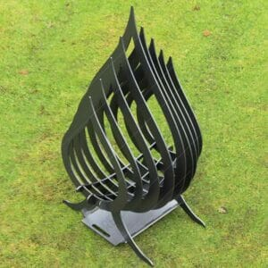 Fire Flame Fire Pit With Ash Tray Collapsible Portable Fire Pit No Welding Needed 20.5X18.5X36 For Laser Cutting