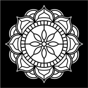 Mandala Wall Art - World Unity