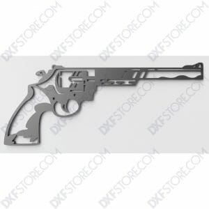 Revolver Free DXF File