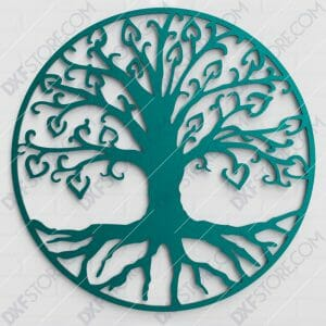 Tree of Life - árbol de la vida for CNC Laser Cut