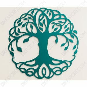 Tree of Life - Tree of Life Celtic DXF File