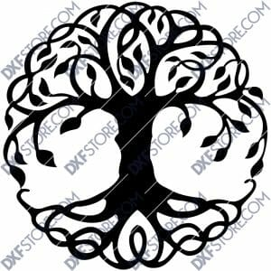 Tree of Life - Tree of Life Celtic DXF File Laser Cut
