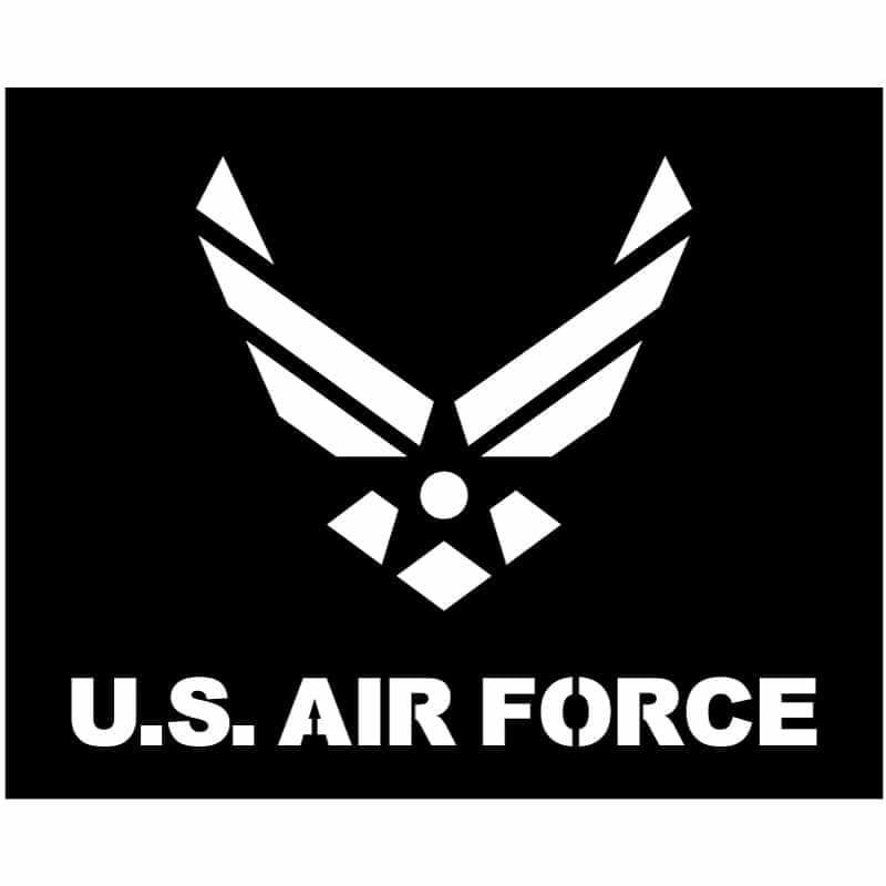 U.S. Airforce logo DXF fIle-3