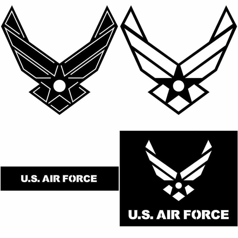 U.S.-Airforce-logo-DXF-FIle
